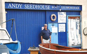 "Andys ""Aladdin's Cave"" of used chandlery, engines and more"